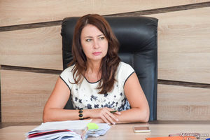 Заместитель главы администрации города Евпатории Марина Байдецкая