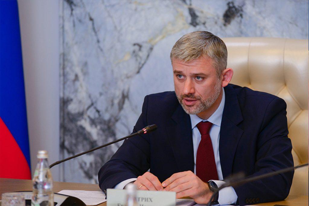Евгений Дитрих, первый заместитель министра транспорта Российской Федерации