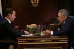 Рустам Минниханов провел рабочую встречу с Дмитрием Медведевым