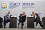 Петербургский международный экономический форум 2018.  Дискуссия «Как реализовать стратегические задачи?»